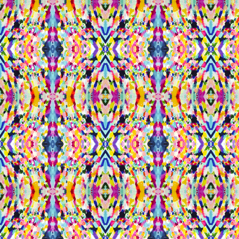 Party in the Garden fabric by theartwerks on Spoonflower - custom fabric
