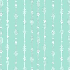 Arrow, Rustic on Mint