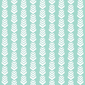 Chevron Arrow Seafoam