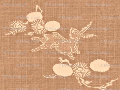 Woodland Hare - dusty rose
