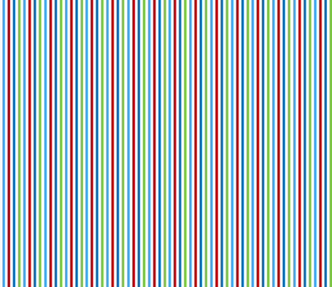 Red Dot Stripe fabric by almost_vintage on Spoonflower - custom fabric