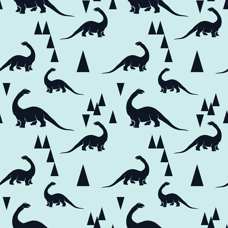 dino-ch fabric by lina_lissner on Spoonflower - custom fabric