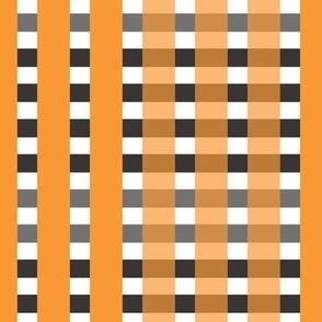 Orange and Black Zig