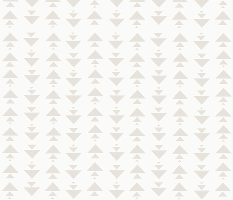 stacked triangles in soft birch fabric by ivieclothco on Spoonflower - custom fabric