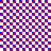 Red White Blue Micro Checks