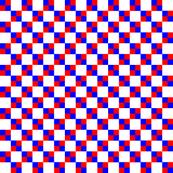 Red White Blue Micro Checks