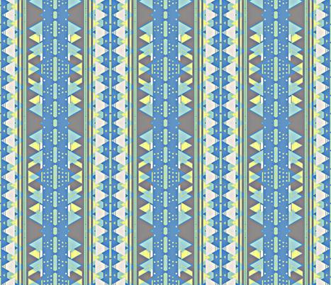 Triangle Stripes fabric by robin_rice on Spoonflower - custom fabric