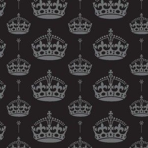 Monarchy in gray and black