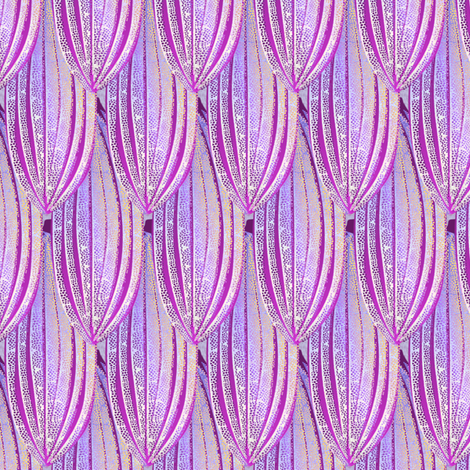 cacaopod bluemoon fabric by glimmericks on Spoonflower - custom fabric