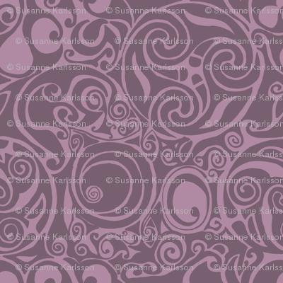 celtic pattern purple