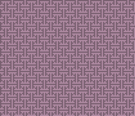 geometric purple pattern fabric by suziedesign on Spoonflower - custom fabric