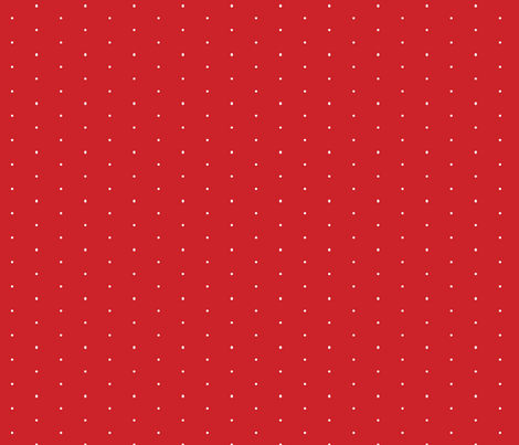 116-Red SwissDot fabric by color_geek on Spoonflower - custom fabric