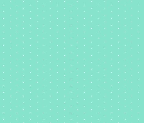 501-Turquoise SwissDot fabric by color_geek on Spoonflower - custom fabric