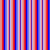 Red White Blue Varied Stripes