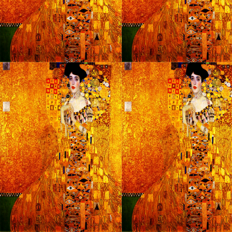 Adele - The Golden Girl fabric by winterblossom on Spoonflower - custom fabric