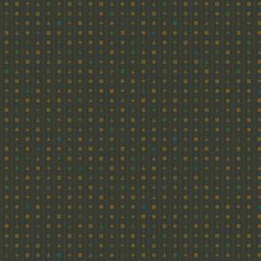 lingua geometrica - dusty ochre