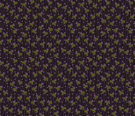 thistle fabric by renelope on Spoonflower - custom fabric