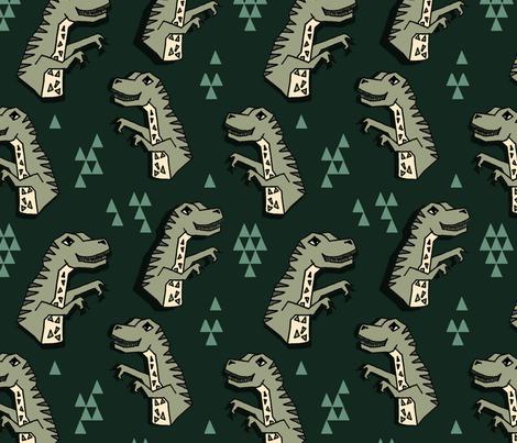 dinosaurs // dinos dino kids baby trex jurassic prehistoric boys kids t-rex tyrannosaurus rex fabric by andrea_lauren on Spoonflower - custom fabric