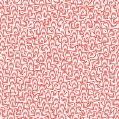 Concentric hills - coral