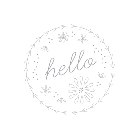 hello embroidery pattern fabric by saltyoat on Spoonflower - custom fabric