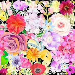Summer Bouquet // Black