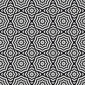 Only The Stars - Hypnotic Black/White