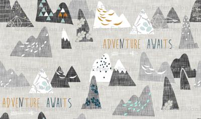 Adventure Awaits (ash) REGULAR
