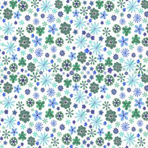 Calico Sea of Flowers