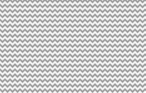 chevron in gray and white fabric by growingupwild on Spoonflower - custom fabric