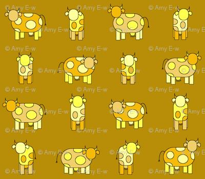 golden cows