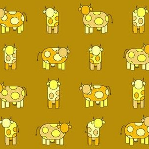 golden cows