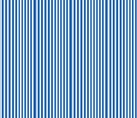 Perfectly Pinstripe in Royal Blue // White  fabric by theartwerks on Spoonflower - custom fabric