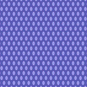 Morning Glory Dots in Blue and lavender