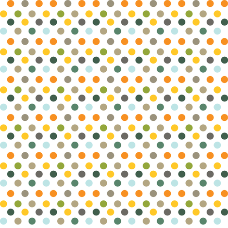 Backyard 003 - Summer Palette fabric by m0dm0m on Spoonflower - custom fabric