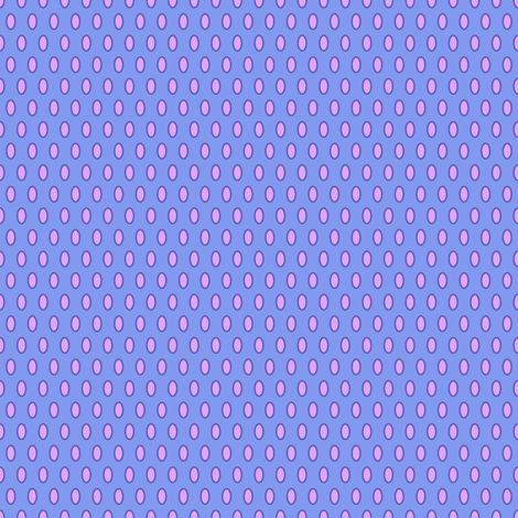 Glory Bee Dots in Periwinkle and Lavender fabric by shellypenko on Spoonflower - custom fabric