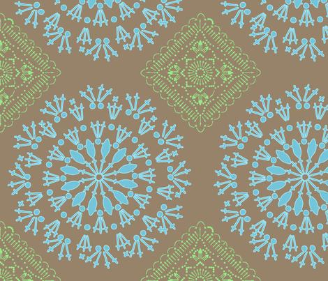 crochetpattern fabric by stefanie_vh on Spoonflower - custom fabric