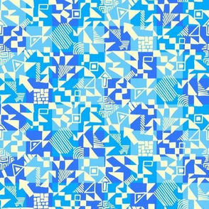 Small-abstract-geometrics-cream-on-blue-check