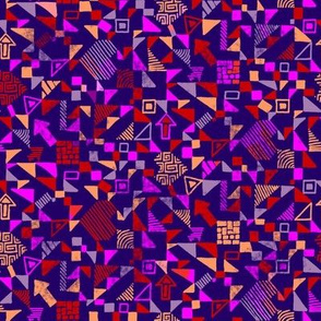 Small-abstract-geometrics-distressed-colourful-on-purple