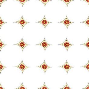 Rhombus Flower