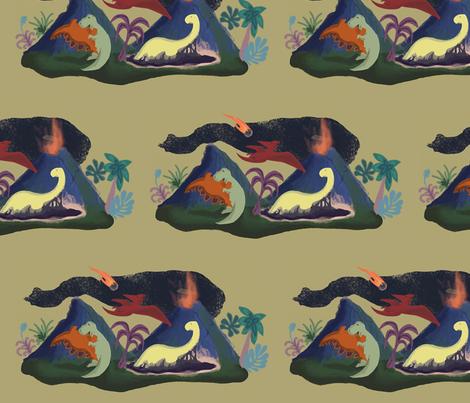 Extinction! fabric by allywe on Spoonflower - custom fabric