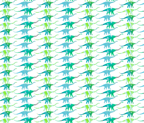 The Great Migration fabric by emilysanford on Spoonflower - custom fabric