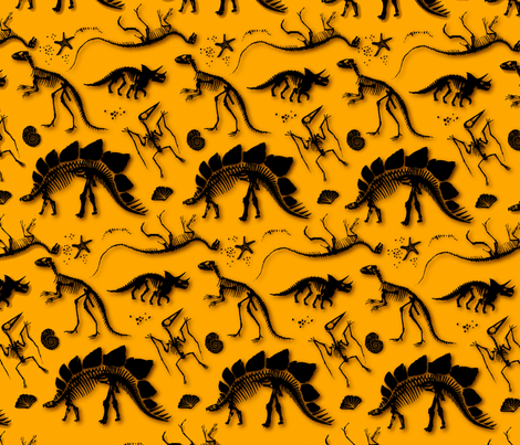 dino_pattern fabric by babayagada on Spoonflower - custom fabric