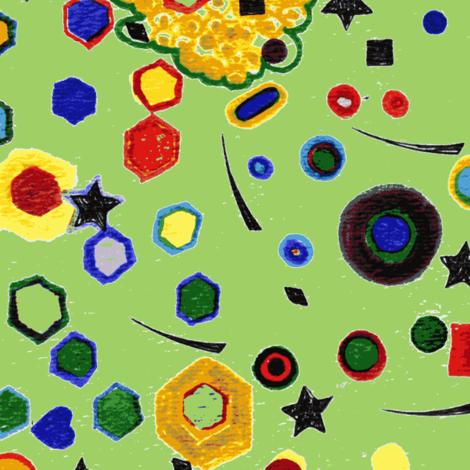 My_Cosmic_Changes-ch-ch fabric by purple_robin on Spoonflower - custom fabric