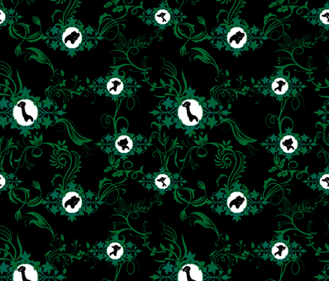 Once Upon A Land Before fabric by kittypryde333 on Spoonflower - custom fabric