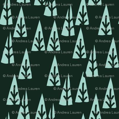 Holiday Trees // christmas fabric