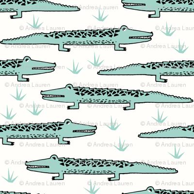 crocodiles // alligator fabric nursery baby boys design reptiles fabric reptile design andrea lauren fabric andrea lauren design