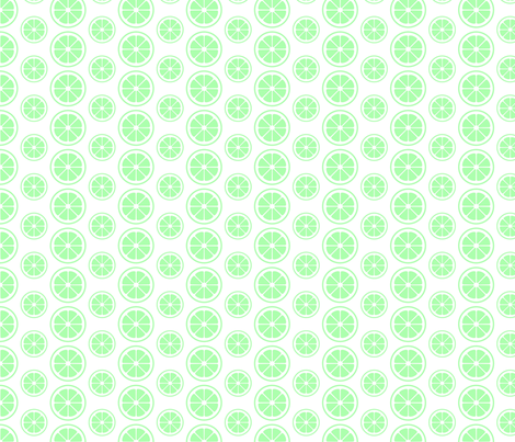 Luscious Limes fabric by brian_walker_art_design on Spoonflower - custom fabric