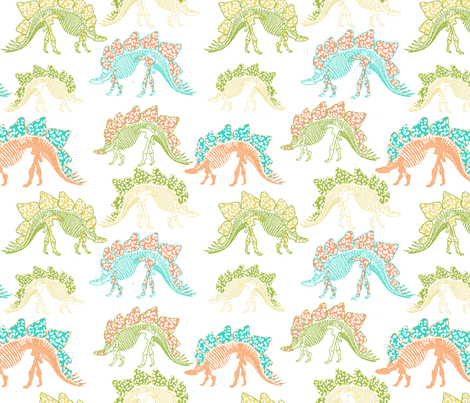 Stego Is My Man fabric by lulabelle on Spoonflower - custom fabric