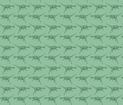 Raptors fabric by crowlands on Spoonflower - custom fabric