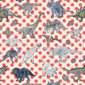 Dinosaurs and dots
